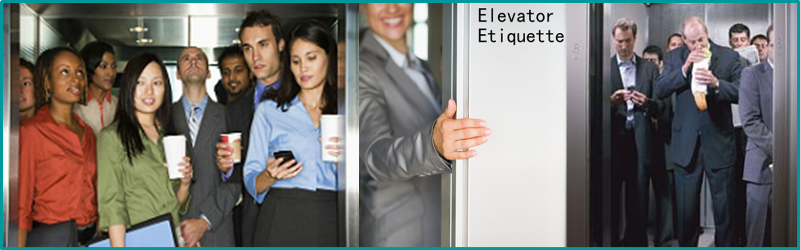 people in elevator. more than 70% of people do not follow the correct elevator etiquette. are your manners up to scratch? here some etiquette tips make in l