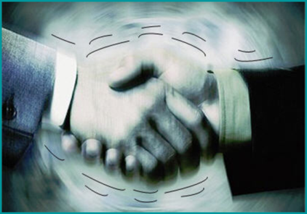 how to give a handshake in business
